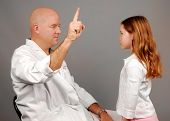 Physician Giving Physical Exam to Young Girl