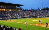 ATLANTA - MAY 23:  The Atlanta Braves Triple A minor league farm team, the Gwinnett Braves, take the