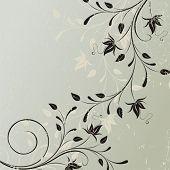 Decorative vector card