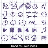 Doodles - web icons