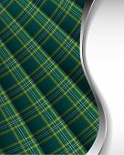 stock photo of kilt  - Scottish plaid background - JPG