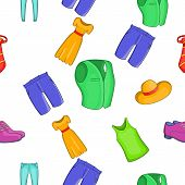 Material Pattern. Cartoon Illustration Of Material Pattern For Web poster