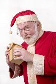 Santa Opening Box