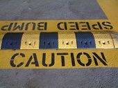 Speed Bump - Caution