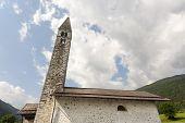 Church Of Pelugo (trento)