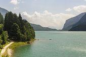 Lake Of Molveno (trento)