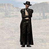 image of vaquero  - Wild West Series with Cowboys Indians Good and Bad Guys