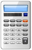 image of subtraction  - Accounting Finance Business Calculator Isolated - JPG
