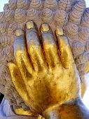 Hand of a Buddha Statue
