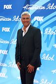 LOS ANGELES - MAY 16:  Taylor Hicks arrives at the American Idol Season 12 Finale at the Nokia Theat