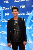 LOS ANGELES - MAY 16:  Adam Lambert arrives at the American Idol Seaon 12 Finale at the Nokia Theate