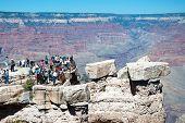South Rim Of Grand Canyon In Arizona