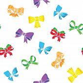 Bows And Ribbons Seamless