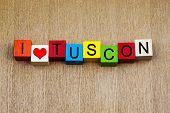 I Love Tuscon, Arizona - Travel Destinations and American Capital Cities