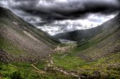 Glendalough Under An Angry Sky