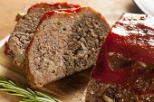 Hausgemachte Ground Beef Hackbraten