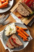 Homemade Ground Beef Meatloaf
