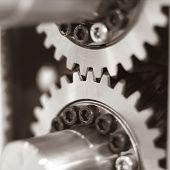Close up of Machine Part