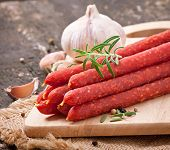 pic of peppercorns  - Smoked sausage with rosemary - JPG