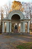 Pavlovsk Park. Rossi's Pavilion