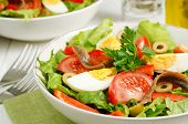 Salad Nicoise With Tomatoes