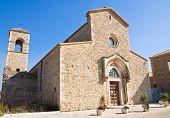 Abbey of Madonna del Casale. Pisticci. Basilicata. Italy.