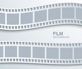 Vector modern film background.