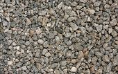 foto of gneiss  - Background of grey gneiss gravel - JPG
