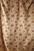 Elegant cotton fabric texture background