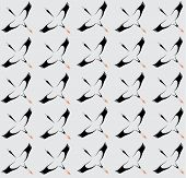 Seamless Wallpaper Stork.
