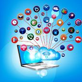 Cloud computing with social network design