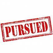 Pursued-stamp