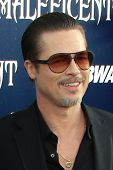 LOS ANGELES - MAY 28:  Brad Pitt at the