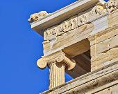 Athena Niki temple detail, acropolis Athens Greece