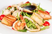 Warm Seafood Salad