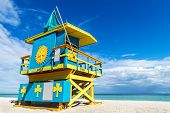 Lifeguard Stand, Miami Beach, Florida