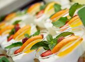 Yogurt Cups With Fruit And Mint