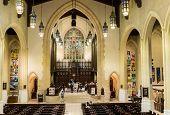 Inside Toronto Metropolitan United Church