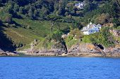 picture of dartmouth  - Kingswear castle by the River Dart, Devon