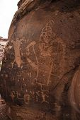 Indian Petroglyphs On Birthing Rock
