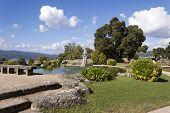 Park In Castro Mount In Vigo