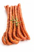 Kabanos - Polish Long Thin Dry Sausage Made Of Pork