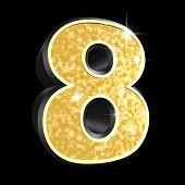 golden number - 8