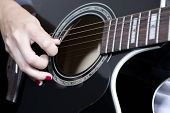Hand And Guitar