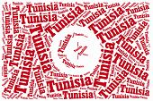 National Flag Of Tunisia