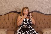 Chismes en teléfono