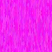 Abstract background Magenta rhombus tile mosaic Seamless