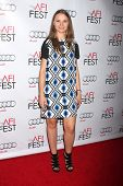 LOS ANGELES - NOV 7:  Yana Novikova at the AFI FEST 2014 Screening Of