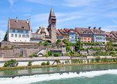 Bremgarten old town near Zurich, Switzerland