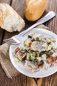 Portion Of Herring Salad